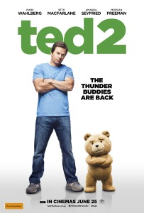 Ted 2 afiche