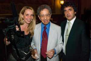 Foto Horacio, César y Caroline