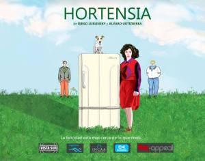 Hortensia afiche